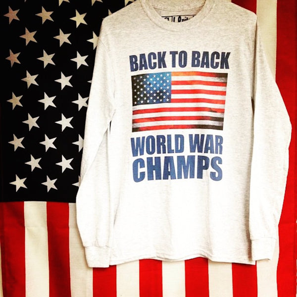 American Flag and United Long Sleeve