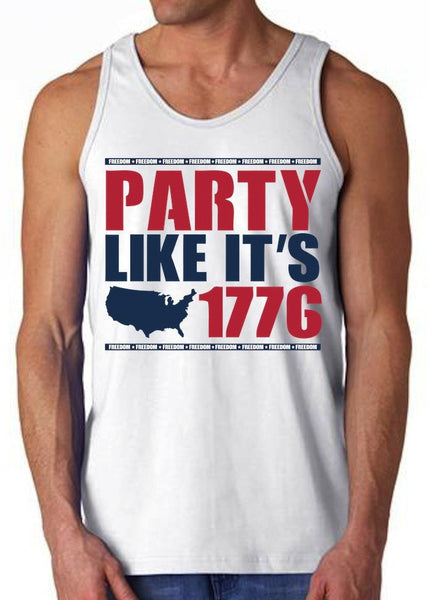 America Party Tank Top