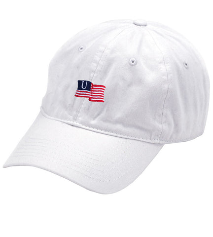 White Live the American Hat