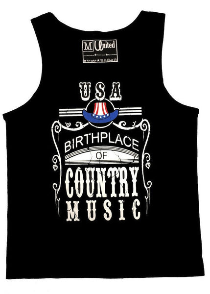 USA 'Birth Place of Country Music' Tank Top
