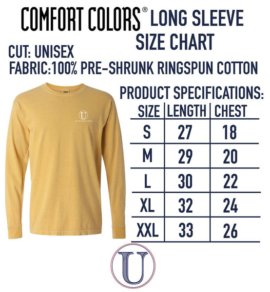 Gold United Comfort Colors Long Sleeve