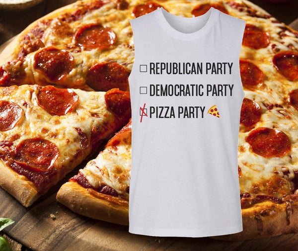 Pizza Political party shirt