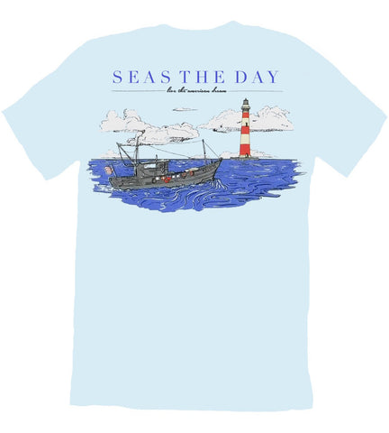 Nautical American Flag Tee