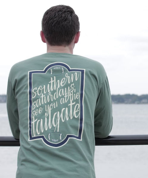 Southern Saturdays Long Sleeve United Tees
