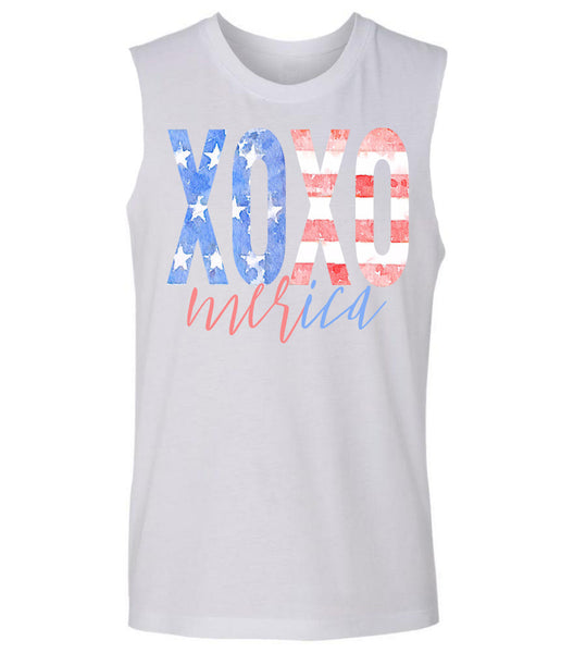 Cute 'Merica 4th of July Tank Top