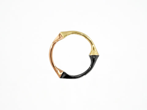 Trine Ring for Him - 3 Gold