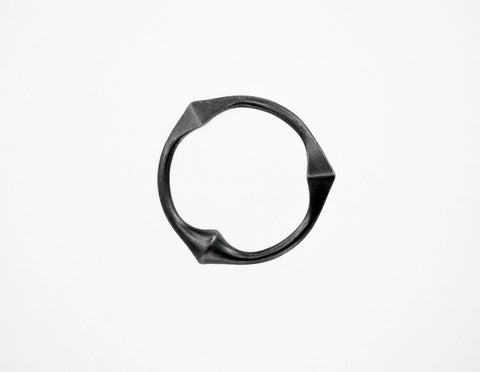Trine Ring for Him - Black - Matt