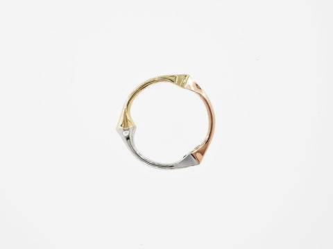 Trine Ring for Her - 3 Gold