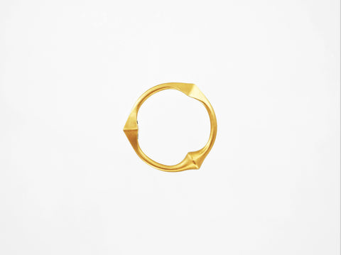 Trine Ring for Her - Brushed