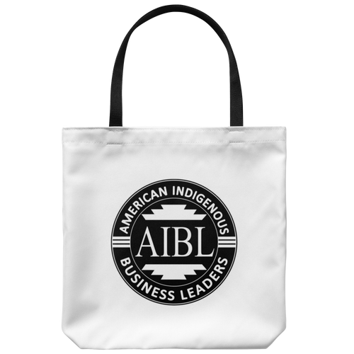 AIBL Logo White Tote Bag
