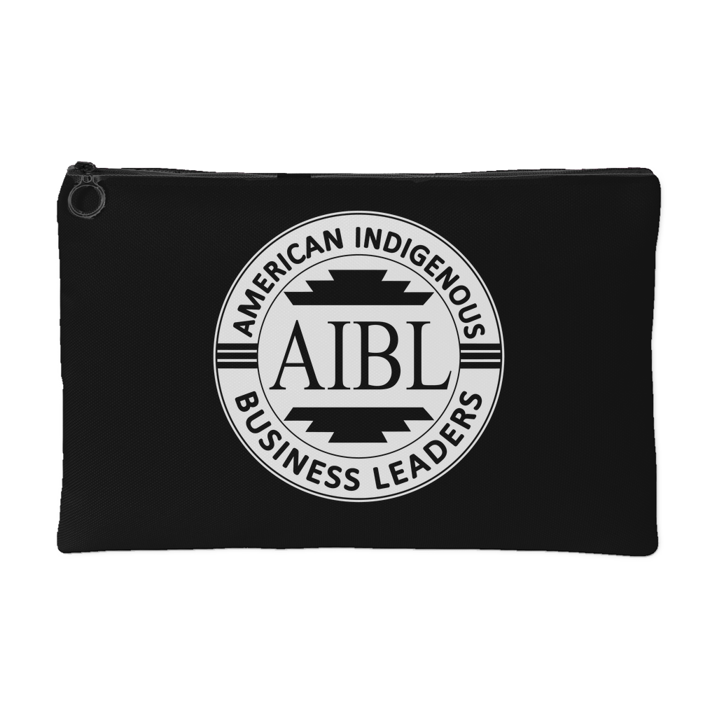 AIBL Logo Accessory Pouch
