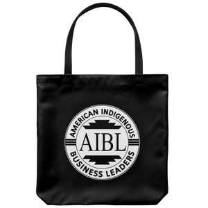 AIBL Logo Black Tote Bag