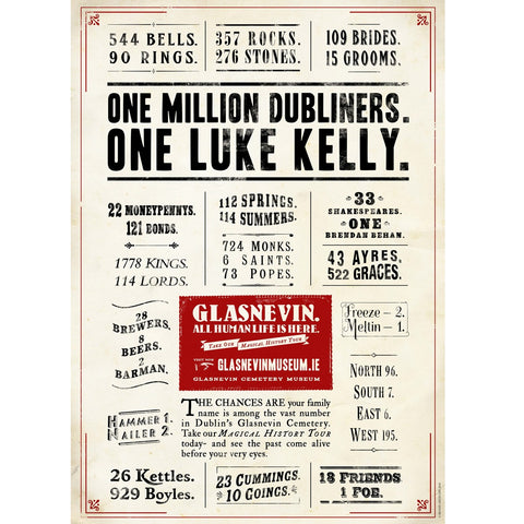 One Million Dubliners Poster