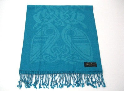 Blue Danube wool scarf