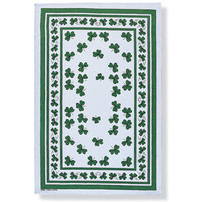 Shamrock Celtic Tea Towel