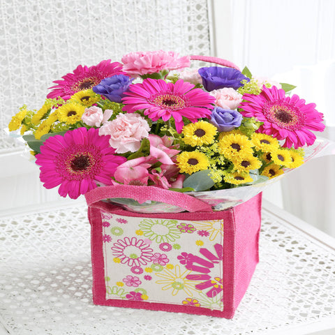 Summer brights gift bag