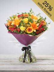 Autumn Golden glory Hand-tied