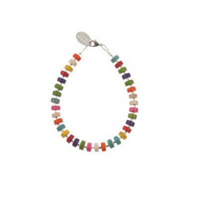 Carrie Elspeth rainbow bracelet