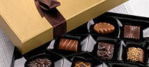 115g box of luxurious  Belgian Chocolates