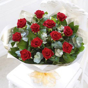 Heavenly Rose Hand-tied - Red