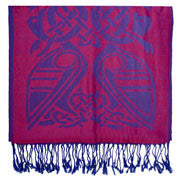 Pink/Royal Blue Celtic scafr