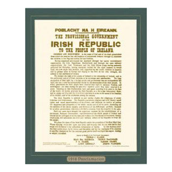 Irish Proclamation Mount