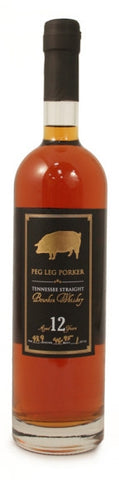 Peg Leg Porker 12 Year Old Bourbon Whiskey BATCH 2 750ml
