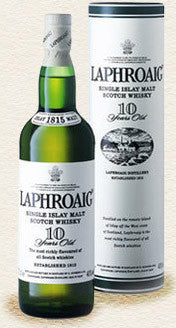 Laphroaig 10 Year Old Single Malt Scotch Whisky 750ml