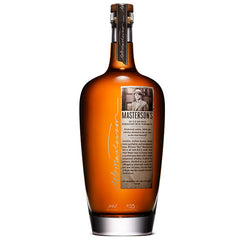 Masterson's 10 Year Old Straight Rye Whiskey 750ml