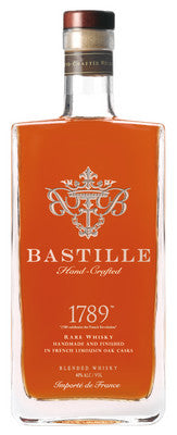 Bastille 1789 Hand-Crafted French Whisky 750ml