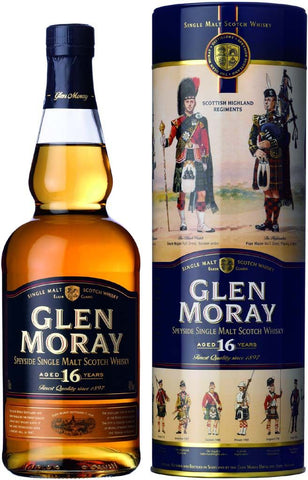Glen Moray 16 Year Old Speyside Single Malt Scotch Whisky 750ml