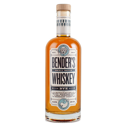 Bender NYC Batch 7 Year Old Rye Whiskey 750ml
