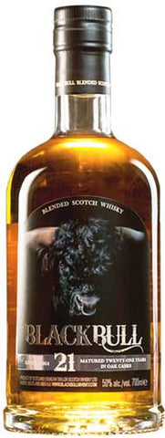 Black Bull 21 Year old Blended Scotch Whisky 750ml