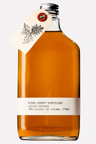 Kings County Distillery WINTER SPICE WHISKEY (seasonal) 375ml Brooklyn New York