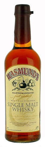Wasmund's Single Malt Whiskey 750ml