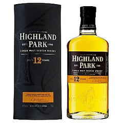 Highland Park 12 Year Old Single Malt Scotch Whisky 750ml
