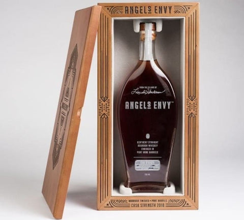 Angel's Envy 2018 Cask Strength Bourbon Whiskey 750ml