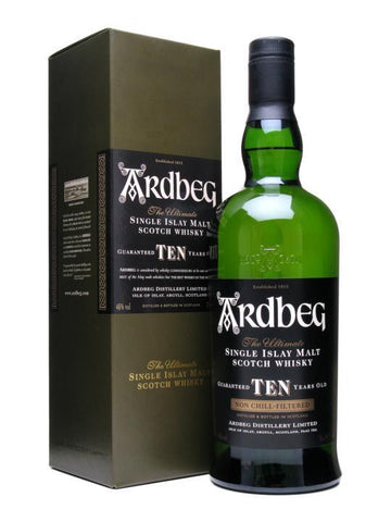 Ardbeg 10 Year Old Islay Single Malt Scotch Whisky 750ml