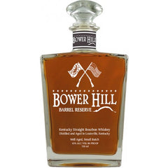Bower Hill Barrel Reserve Kentucky Straight Bourbon Whiskey 750ml