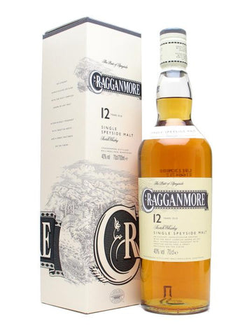 Cragganmore 12 Year Old Single Malt Scotch Whisky 750ml