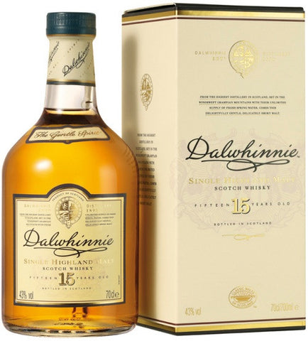 Dalwhinnie 15 Year Old Single Malt Scotch Whisky 750ml