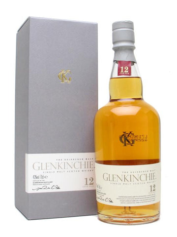 Glenkinchie 12 Year Old The Edinburg Malt Single Malt Scotch Whisky 750ml