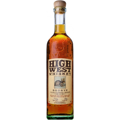 High West Bourye Whiskey 750ml Limited