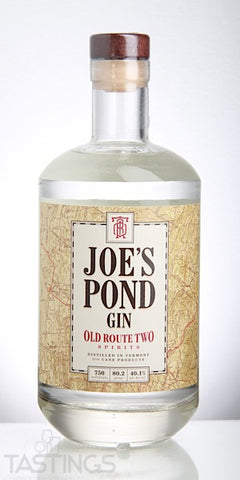 Joe's Pond Gin 750ml