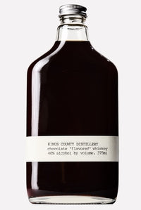 "Kings County Distillery Chocolate ""Flavored"" Whiskey 375ml Brooklyn New York"