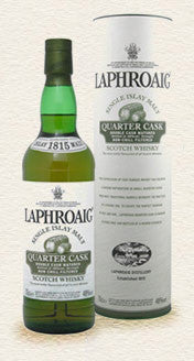 Laphroaig Quarter Cask Islay Single Malt Scotch Whisky 750ml