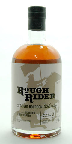 Rough Rider Straight Bourbon Whiskey 750ml Long Island Spirits