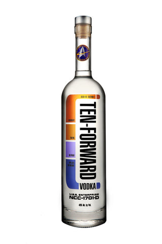Ten Forward Vodka 750ml  Star Trek TNG
