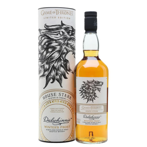 Dalwhinnie Game of Thrones House Stark Winter's Frost Single Malt Scotch Whisky 750ml