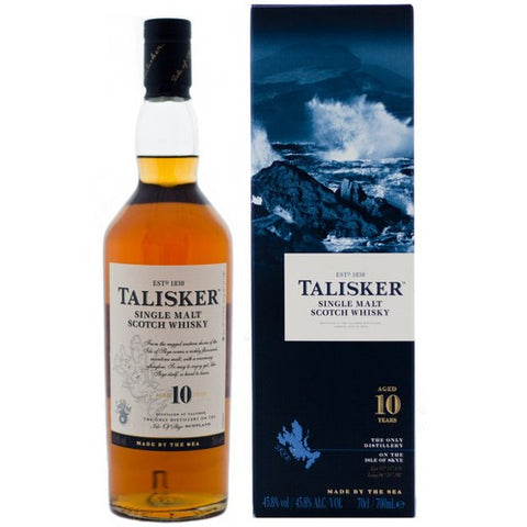 Talisker 10 Year Old Single Malt Scotch Whisky 750ml